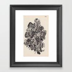 Untitled Vomit Framed Art Print