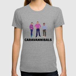 """Clarkson, Hammond and May fan art """"Caravannibals"""" T-shirt"""