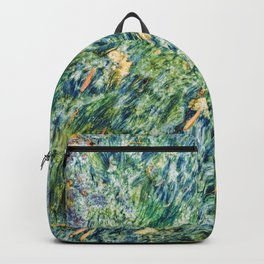 Ocean Life Abstract Backpack