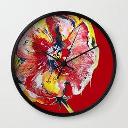 FLOWER WIFEY Wall Clock