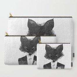 minima - dapper fox | noir Carry-All Pouch