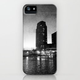Night Downtown iPhone Case
