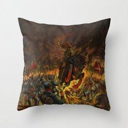 Karma To Burn - Arch Stanton Throw Pillow