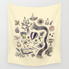 Hufflepuff, Loyal and True Wall Tapestry