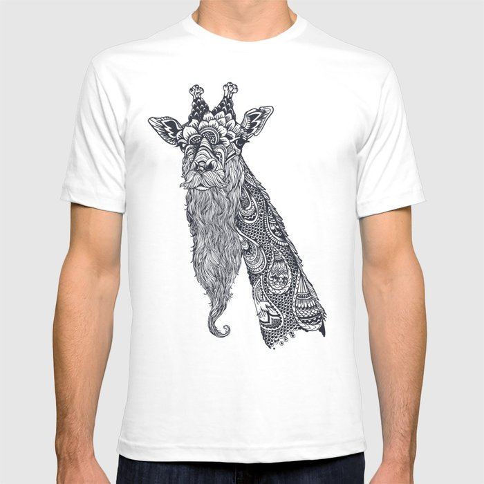 Giraffe Movember T-shirt