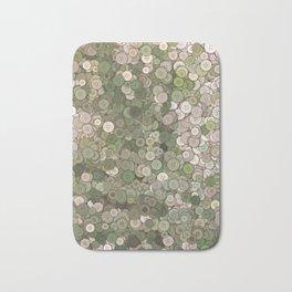 buttons fantasy garden Bath Mat