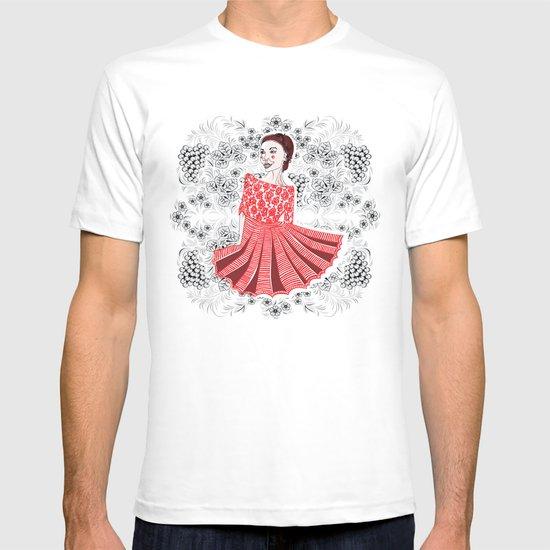 Red Dress T-shirt