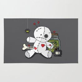 Voodoo doll shelf Rug