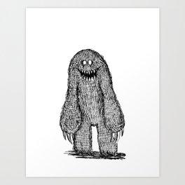 That One Monster Art Print