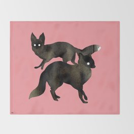 Foxx Throw Blanket