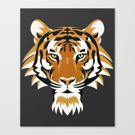 The prowler. Canvas Print