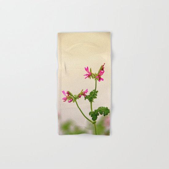 Geraniums (Pelargonium) #5 Hand & Bath Towel