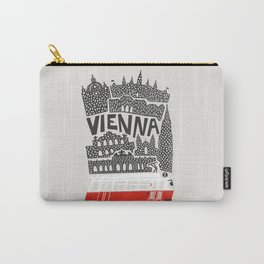 Vienna City Print Carry-All Pouch