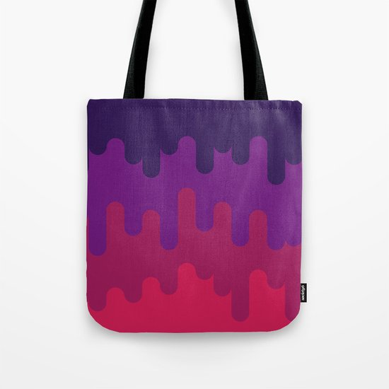 Drips and Drops - Pink Tote Bag