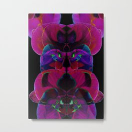 Electricity in the Orchid Petals Metal Print