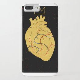Heart Of A King. iPhone Case