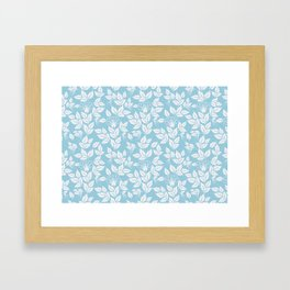 Leaves Pattern 10 Framed Art Print