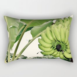 Costa Rican Bananas Rectangular Pillow
