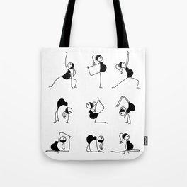Pregnancy Yoga Tote Bag