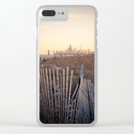 Lake Michigan Clear iPhone Case