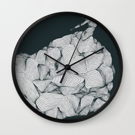 Come To Nothing Wall Clock
