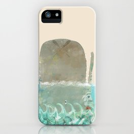 into the wild the whale iPhone Case