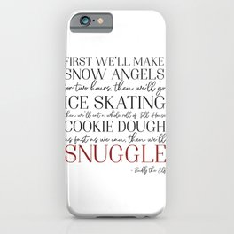 Buddy the Elf Quote iPhone Case
