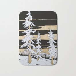 Seuss Trees Bath Mat