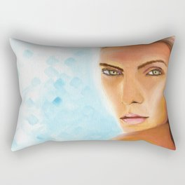 Sunkissed Face Rectangular Pillow