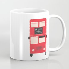 Red Double Decker Bus  Mug