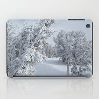 snow iPad Cases featuring Snow by Chris Root