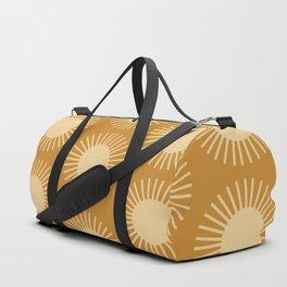 Golden Sun Pattern II Duffle Bag