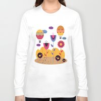 spring Long Sleeve T-shirts featuring Spring by Kakel