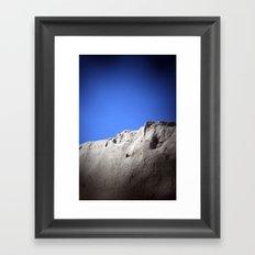 wall of sand Framed Art Print