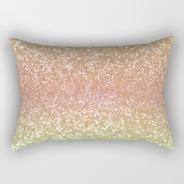 Champagne Shimmer Rectangular Pillow