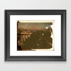 The Mound, Edinburgh Framed Art Print