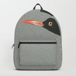 Oystercatcher on the run Backpack