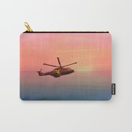Chopper in the sunset Carry-All Pouch