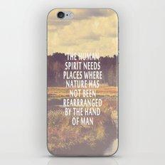 The Human Spirit iPhone & iPod Skin