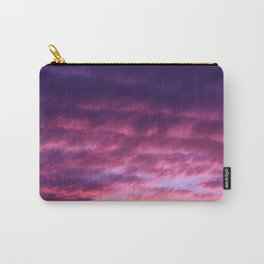 Pink Purple Sunset Carry-All Pouch