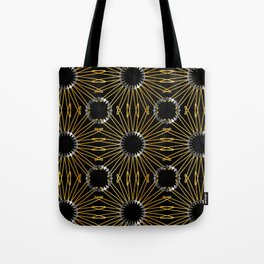 Gold and silver snowflake gifts Tote Bag