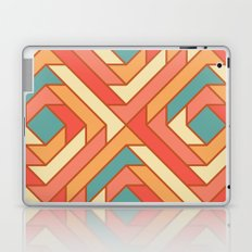 Square Flowers Laptop & iPad Skin