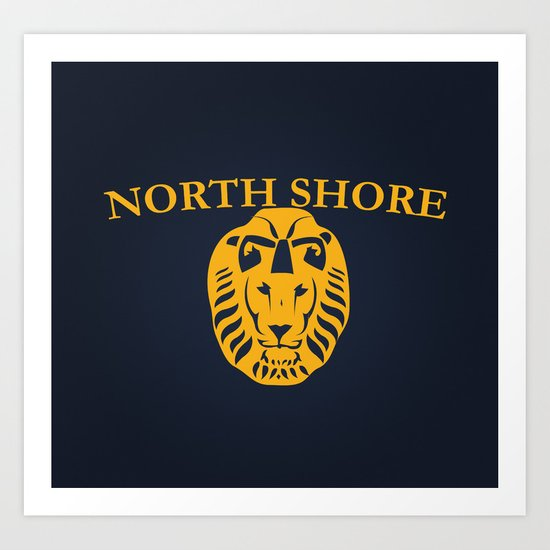 North Shore - Mean Girls movie Art Print