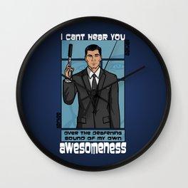 Archer Awesomeness Wall Clock
