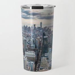New York Skyline Travel Mug