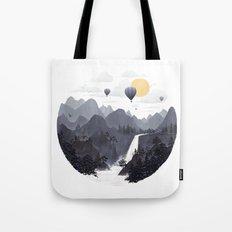 Roundscape II Tote Bag
