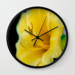 Day Lily-4 Wall Clock