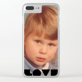 Love Sick Clear iPhone Case