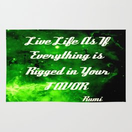 Everything Is Rigged - Rumi Rug
