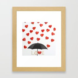 BUT ONLY LOVE CAN BREAK YOUR Framed Art Print